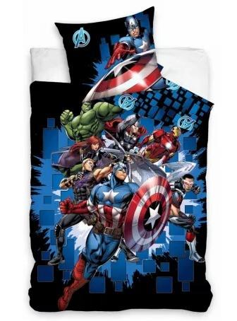 Avengers posteljina 140×200 cm Luma shop