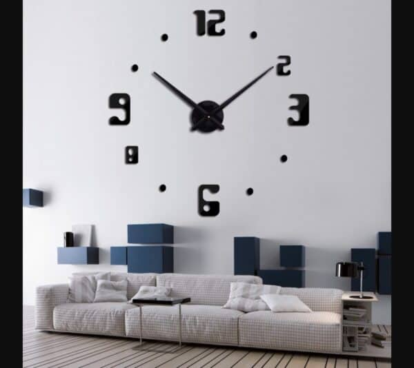 Luma shop 3D zidni sat