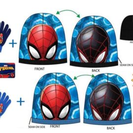 Spiderman set kapa+rukavice