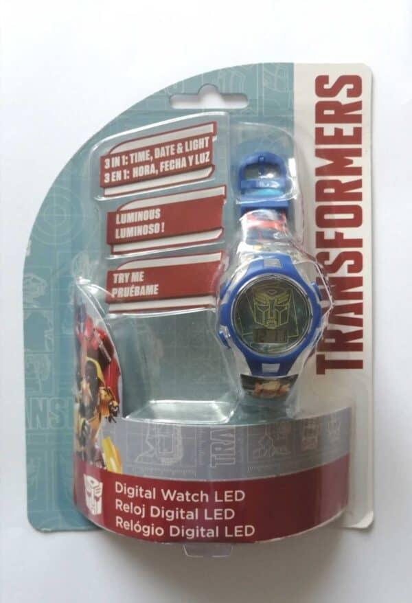 Luma shop Disney Transformer ručni digitalni sat