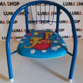 Dječja stolica sa zvukom plava