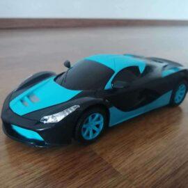 Auto na daljinski LED plavi