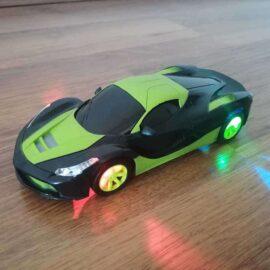 Auto na daljinski LED zeleni