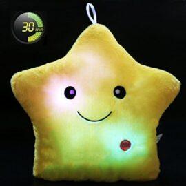 LED jastuk zvijezda – žuti