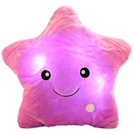 LED jastuk zvijezda – ljubičasti