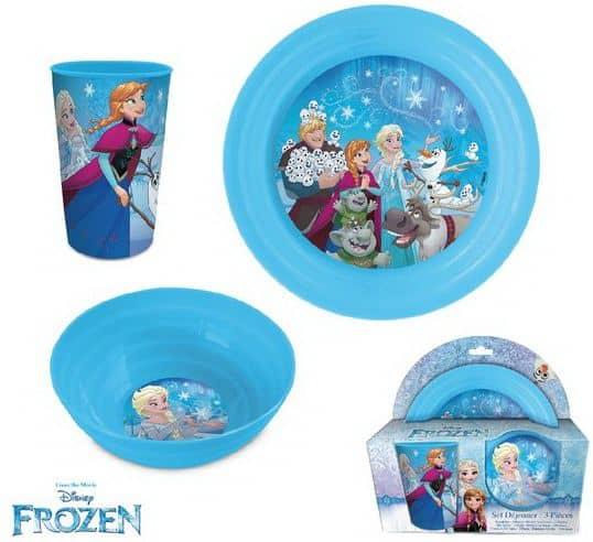 Luma shop Frozen set za jelo 3/1