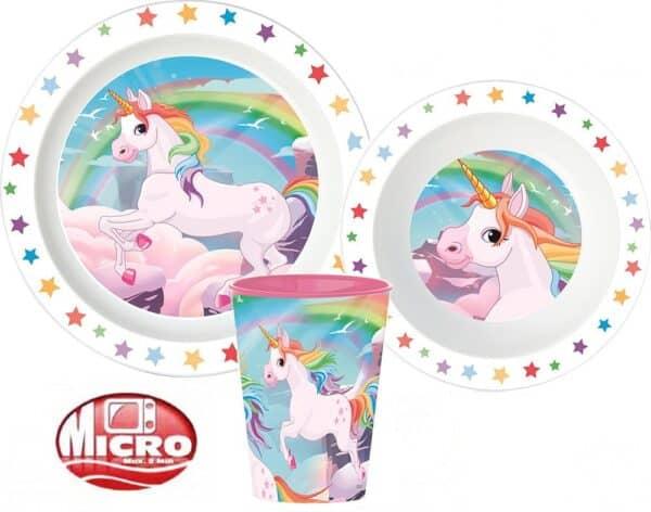 Luma shop unicorn jednorog set za jelo 3/1