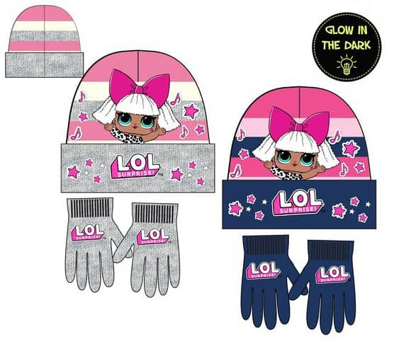 Luma shop Disney LOL kapa i rukavice set