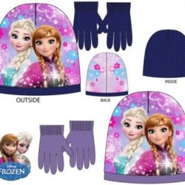 Frozen Disney set kapa + rukavice