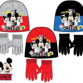 Mickey Mouse Disney set kapa + rukavice