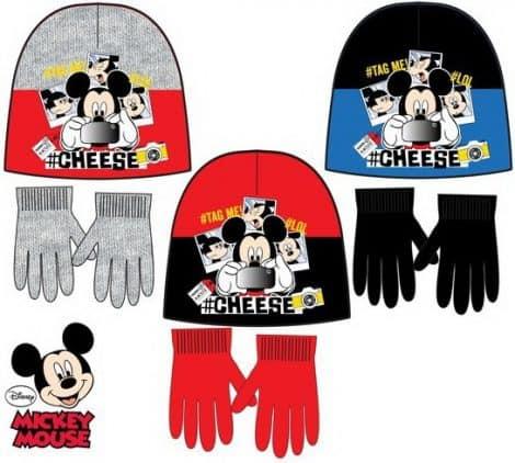 Luma shop Disney Mickey Mouse kapa i rukavice