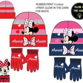 Minnie Mouse set kapa + rukavice