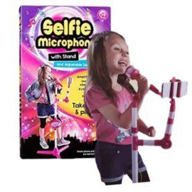 Mikrofon sa postoljem MP3 i selfie