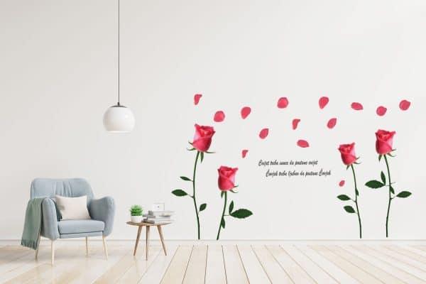 luma shop naljepnica ruže