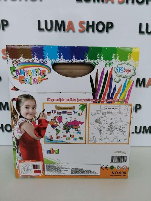 luma shop set za bojanje igračka