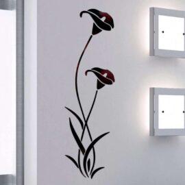Kala – akril sa efektom ogledala crni
