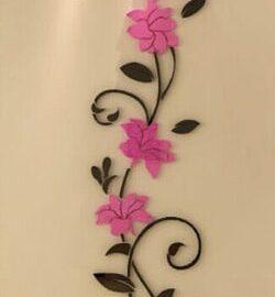 Cvijet ornament rozi