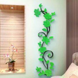 Cvijet ornament zeleni
