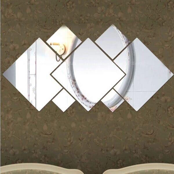 Luma shop kvadrati ogledalo