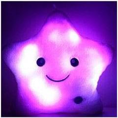 LED jastuk zvijezda – rozi