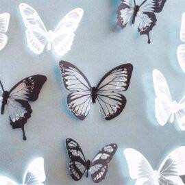 3D leptiri crno – bijeli, Akcija 1+1