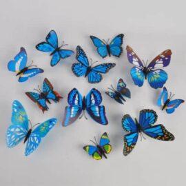 3D leptiri plavi šareni, Akcija 1+1