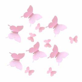 3D leptiri rozi jednobojni, Akcija 1+1