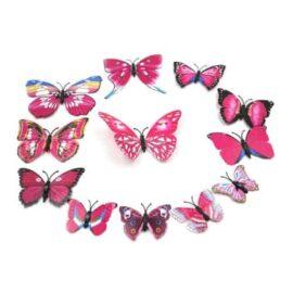 3D leptiri rozi šareni, Akcija 1+1