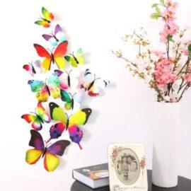 3D leptiri šareni, Akcija 1+1 3D leptiri šareni 2