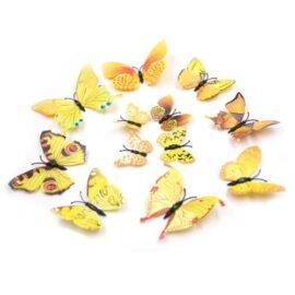 3D leptiri žuti šareni, Akcija 1+1