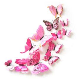 Leptiri 3D-2 rozi, Akcija 1+1