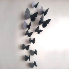 3D leptir crni prugasti, Akcija 1+1