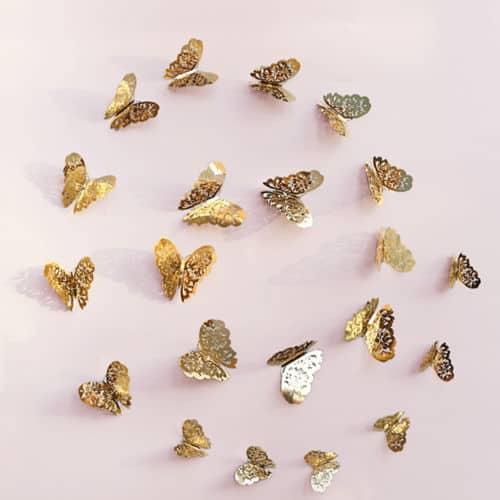 leptiri zlatni Luma shop