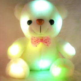 Medo s LED svijetlom 20cm – bijeli