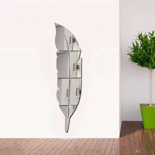 luma shop 3d naljepnica 3d akril ogledalo pero