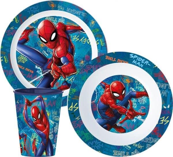 Luma shop Spiderman set za jelo 3/1