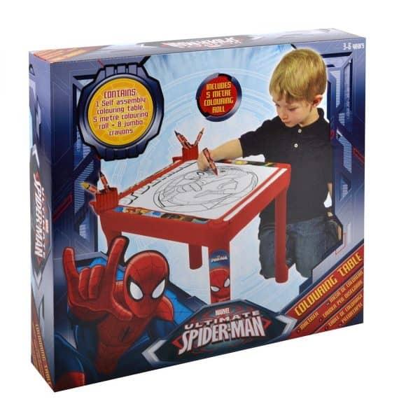 luma shop spiderman stol za bojanje i crtanje