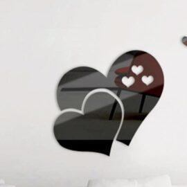 Srce – crno efekt ogledala
