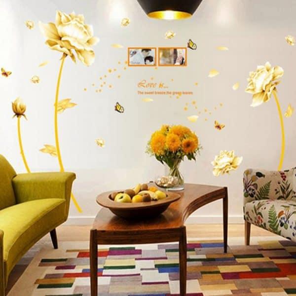 luma shop naljepnica cvijet s fotografijama