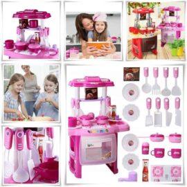 Dječja kuhinja roza