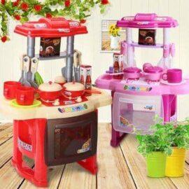 Dječja kuhinja crvena