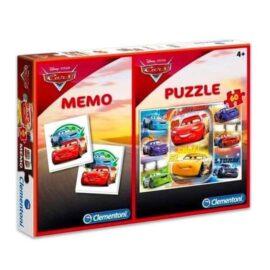 Puzzle+memo Cars 2u1