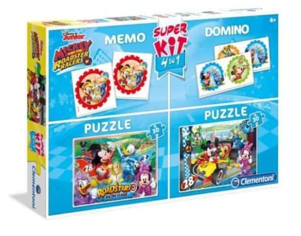 Luma shop puzzle Mickey set 4u1