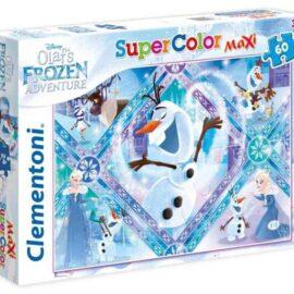 Puzzle Frozen Olaf adventure