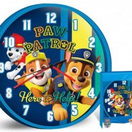 Zidni sat Paw Patrol 25cm