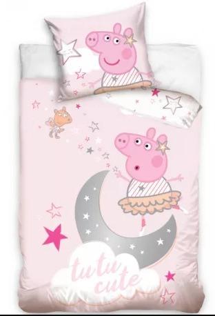 Peppa Pig posteljina 100×135 cm Luma shop