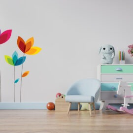 djeca-cvijece zidna naljepnica 93x120cm