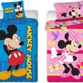 Mickey/Minnie posteljina 135x100cm