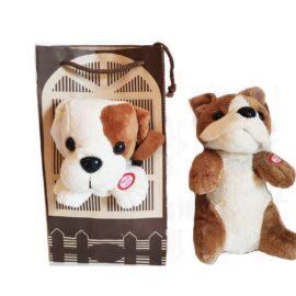 Dječja igračka psić u vreći