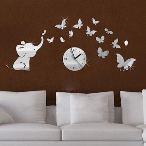 Zidni sat slon Luma shop